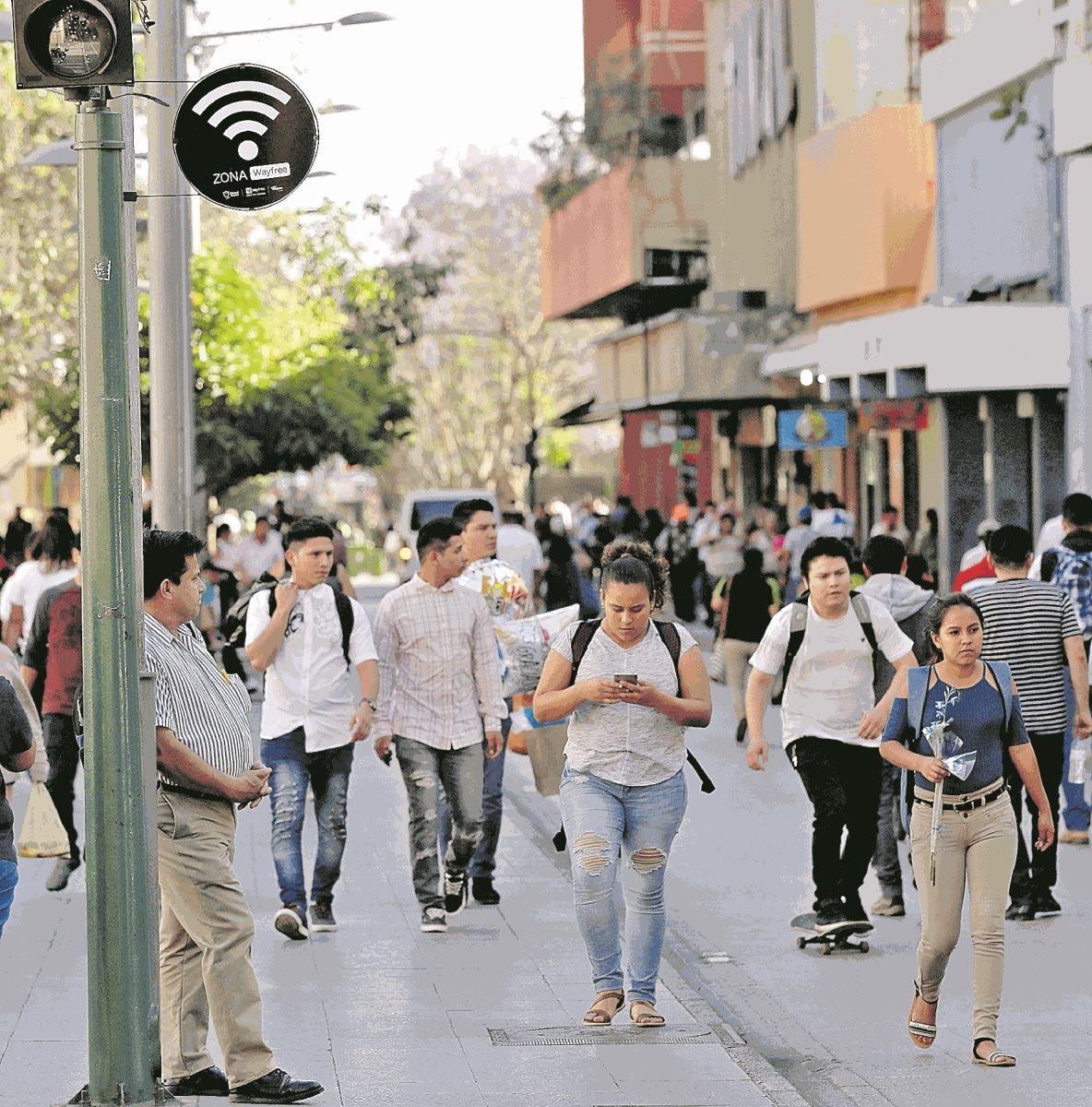 Cómo funcionará el acceso a internet habilitado en el Paseo de la Sexta