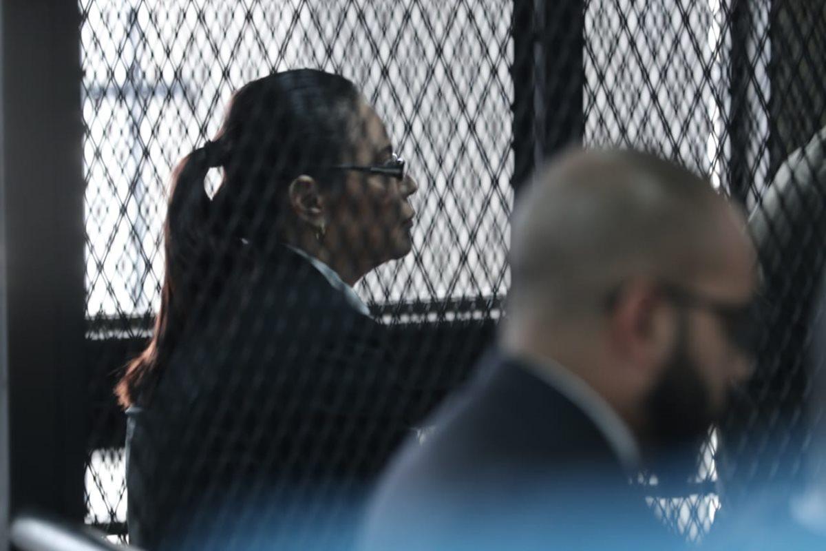 Defensa intentó detener declaraciones en contra de Roxana Baldetti