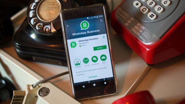 Whatsapp Business es el primer intento de Facebook de hacer dinero a través de la plataforma de mensajería. (Getty Images).