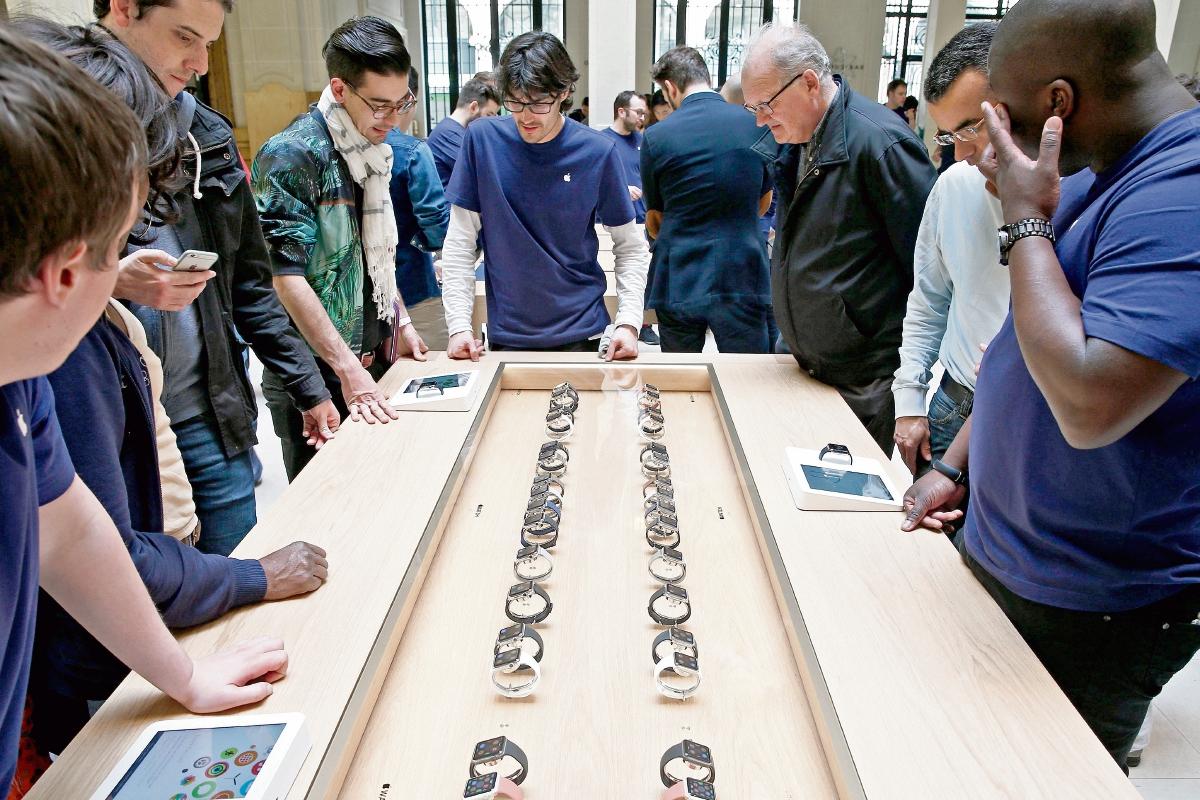 El esperado Apple Watch hace su debut mundial
