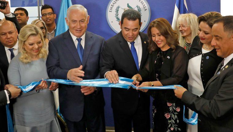 Guatemala e Israel estrecharon relaciones con el traslado de embajada de Tel Aviv a Jerusalén. (Foto Prensa Libre: Hemeroteca PL)
