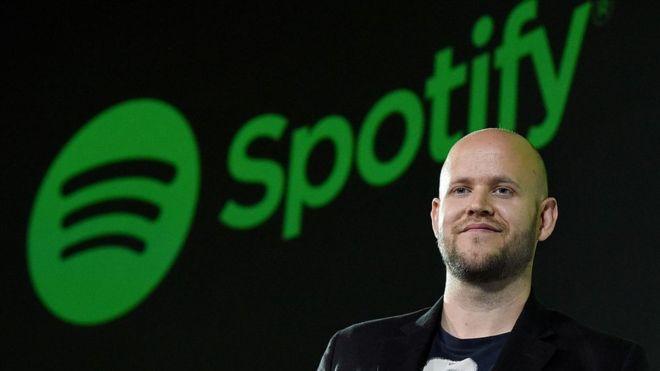 Daniel Ek comenzó a desarrollar sitios web a los 13 años. GETTY IMAGES