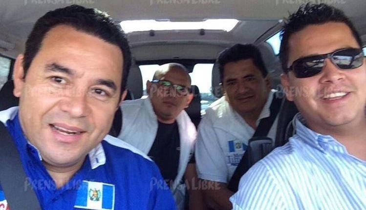 El presidente Jimmy Morales fue notificado en seis ocasiones sobre inconsistencias en las finanzas del partido, cuando era secretario general de FCN. (Foto Prensa Libre: Hemeroteca PL)