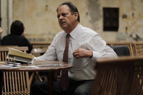 """El escritor Víctor Muñoz, Premio Nacional de Literatura 2013 (Foto Prensa Libre: Edwin Bercián)<br _mce_bogus=""""1""""/>"""