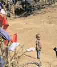 La pobreza extrema es una de las causas que lleva a la desnutrición aguda. (Foto Prensa Libre: Hemeroteca PL)