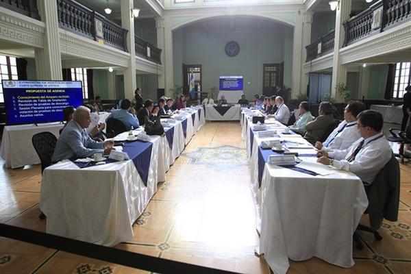 """La Comisión de Postulación de la CSJ recibió este jueves varios reveses en material legal. (Foto Prensa Libre. Erick Ávila)<br _mce_bogus=""""1""""/>"""