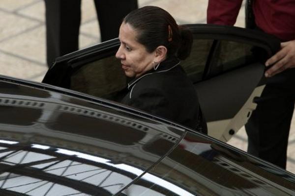 María del Pilar Hurtado, exdirectora del servicio secreto de Colombia. (Foto Prensa Libre: AFP)