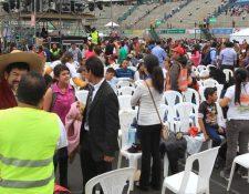 El evento es organizado por la iglesia Ebenezer. (Foto Prensa Libre: Estuardo Paredes)