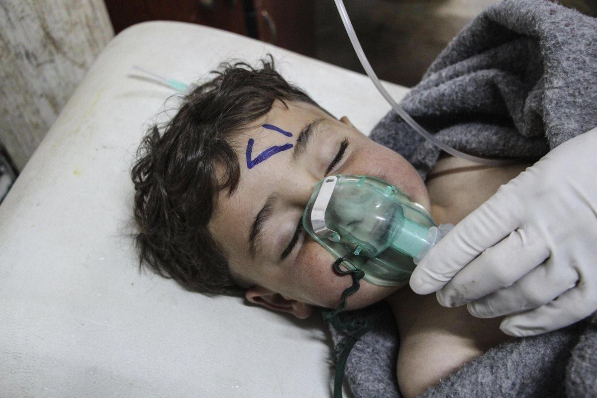 ¿Qué son los mortales gases químicos usados en Siria?