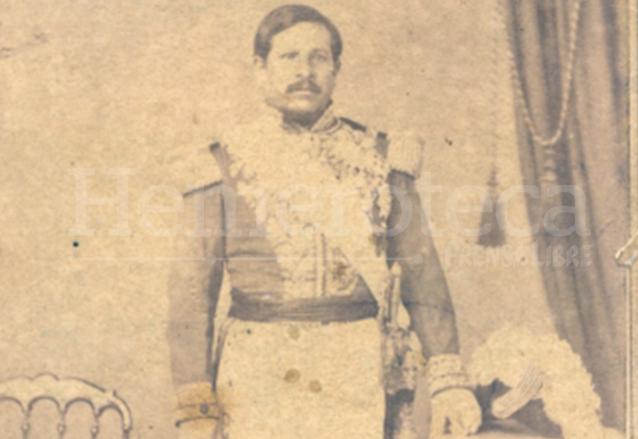 Fotografía tomada al general Rafael Carrera en sus últimos años de vida. (Foto: Hemeroteca PL)