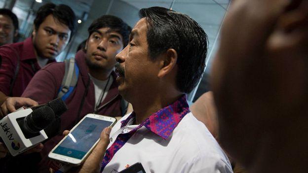 Edward Sirait es el director de Lion Air. NURPHOTO/GETTY IMAGES