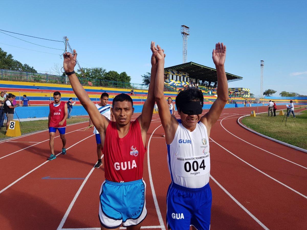 El rey de la pista en los Juegos Paracentroamericanos de Managua