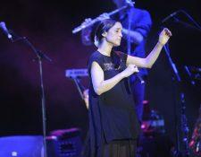 Julieta Venegas es una de las artistas mexicanas más representativas de Latinoamérica, se presento en Marbella. (Foto Prensa Libre: EFE)