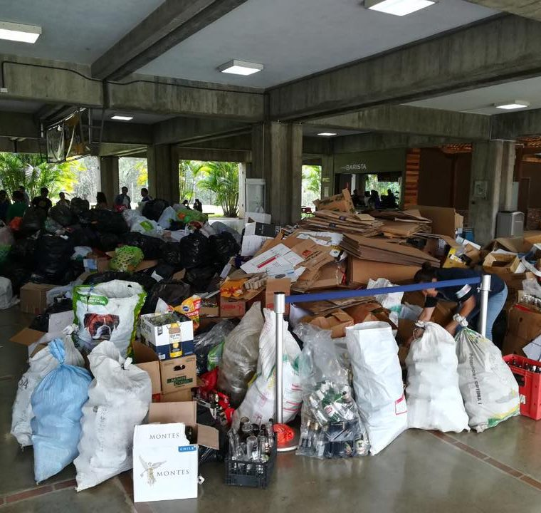 En paseo Cayalá se instalará un centro de acopio de materiales reciclables. (Foto Prensa Libre: Cortesía)