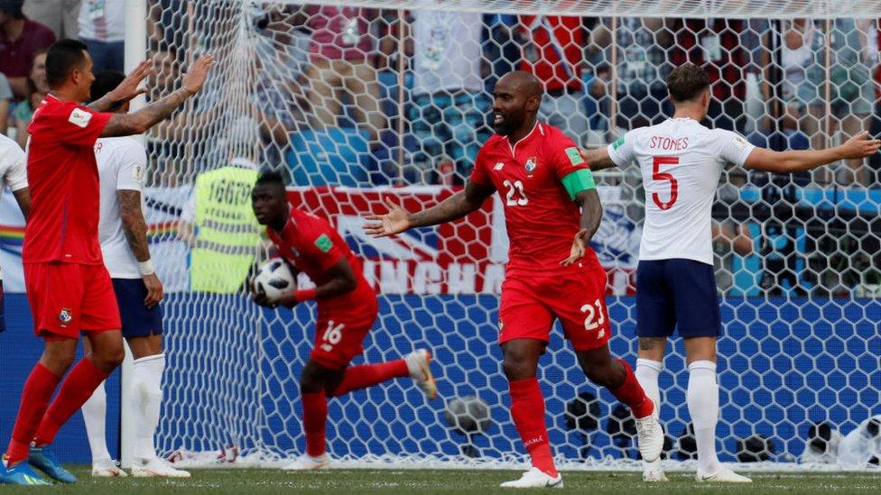 Municipal celebra por todo lo alto el histórico gol de Baloy en el Mundial de Rusia