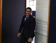 Édgar Melchor fue uno de los seis candidatos elegidos para ser el próximo fiscal general. (Foto Prensa Libre: Hemeroteca)