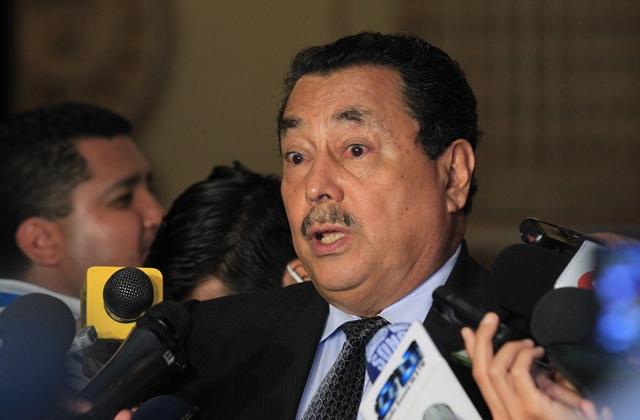 Juzgado recibe solicitud de antejuicio contra Cabrera