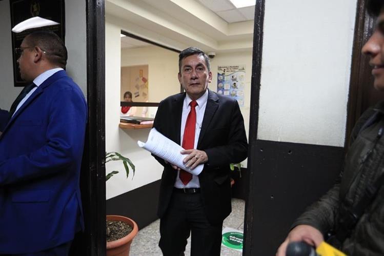 Roberto Villate fue acusado de financiamiento electoral ilícito durante la campaña de 2015, cuando fue secretario general de Líder. (Foto Prensa Libre: Hemeroteca PL)