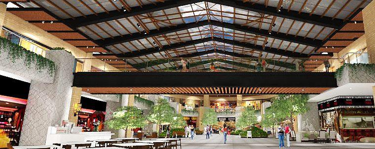 Así quedará la segunda fase de ampliación de Oakland Mall (Foto Prensa Libre: Cortesía)