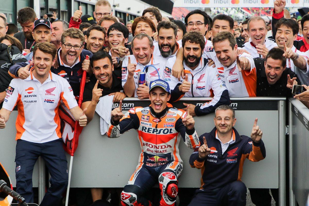 Marc Márquez lidera el Mundial de MotoGP luego de conquistar la pista de Misano