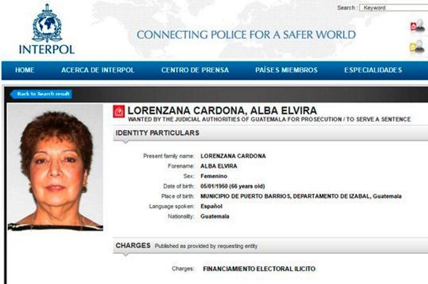 Alba Elvira Lorenzana Cardona, esposa del empresario mexicano Ángel González, tiene orden de captura internacional por financiamiento electoral ilícito. (Foto Prensa Libre: Hemeroteca PL)