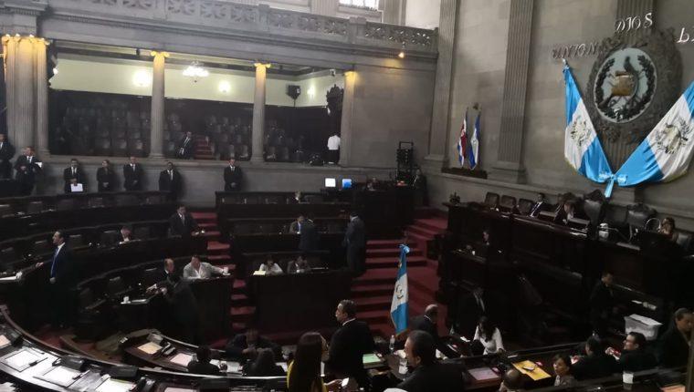 El segundo periodo se sesiones ordinarias del Congreso comenzó este miércoles. (Foto Prensa Libre: Hemeroteca PL)