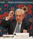 Mario Vargas Llosa espera un resurgir de la literatura de la región, (Foto Prensa Libre: EFE)