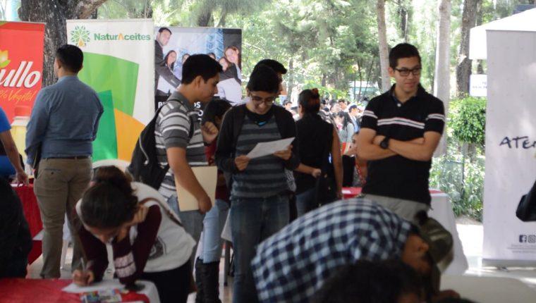 Mañana miércoles se llevará a cabo una feria de empleo en la facultad de Ingeniería de la USAC. (Foto Prensa Libre: Cortesía)