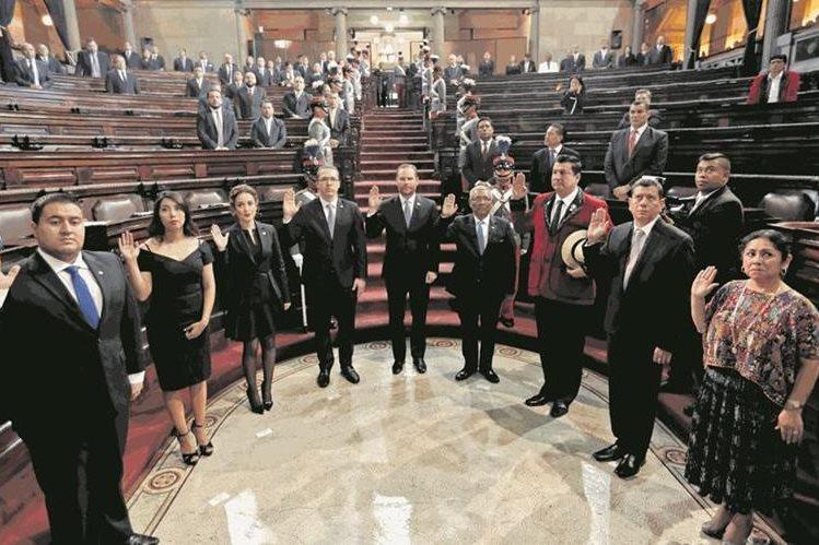 Congreso planea nombrar a una Junta Provisional de Debate. (Foto Prensa Libre: Hemeroteca PL)