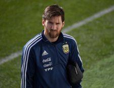 Messi podría jugar mañana frente a España. (Foto Prensa Libre: AFP)