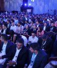 Más de mil personas asistieron al Tigo Business Forum 2018 para escuchar lo último en inteligencia artificial. (Foto Prensa Libre: Esbin García)