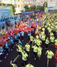 La reciente muerte de un corredor en una prueba de medio maratón ha sacado a relucir otra forma de hacer trampas en China. (Foto Prensa Libre: AFP)