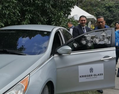 Grupo Solika presenta Krieger Glass