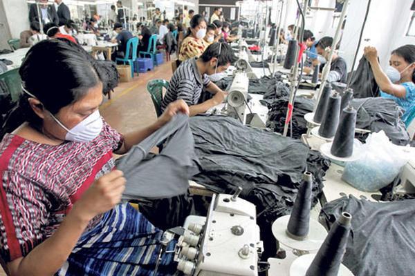 Una fábrica de telas de capital coreano se instalará en Villa Nueva para surtir las cadenas de producción. (Foto Prensa Libre: Hemeroteca)