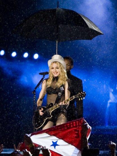 A Madonna no le gustan las tormentas, y muchos menos los rayos y truenos, a los que les tiene verdadera fobia. GETTY IMAGES