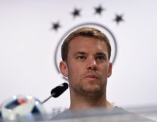 El guardameta Manuel Neuer fue incluido en el listado de la Selección de Alemania. (Foto Prensa Libre: Hemeroteca PL)