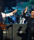 Paul McCartney junto a Ringo Starr durante un concierto en EE. UU. en el 2014. (Foto Prensa Libre: AP)