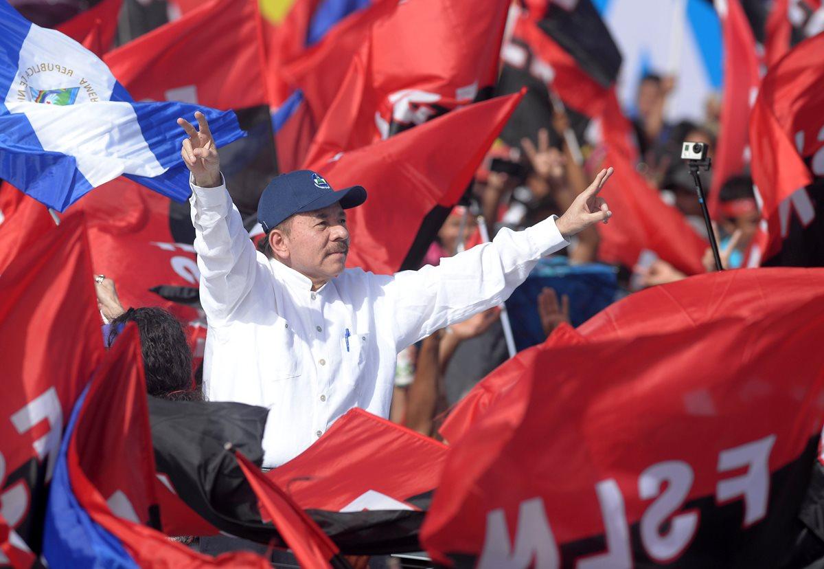 Miles de nicaragüenses celebran 39 años de revolución en medio de crisis