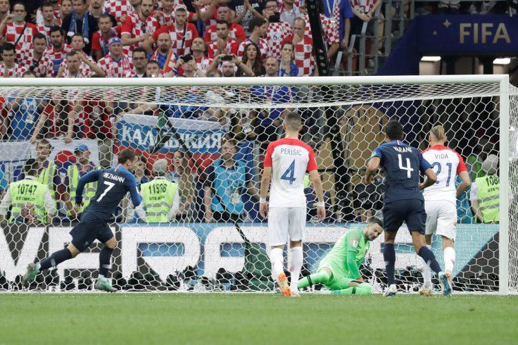 Los Croatas se vieron contra la pared después de la anotación del tiro penal.