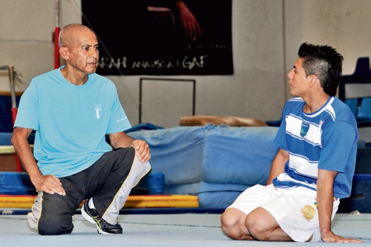 Los consejos de Tejeda han sido vitales en el desarrollo de la carrera de Vega. (Foto Prensa Libre: Óscar Felipe)