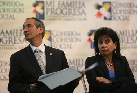La Sala de Familia rechazo este jueves, el recurso que buscaba frenar el divorcio del presidente Álvaro Colom y su esposa Sandra Torres. (Foto Prensa Libre: Archivo)