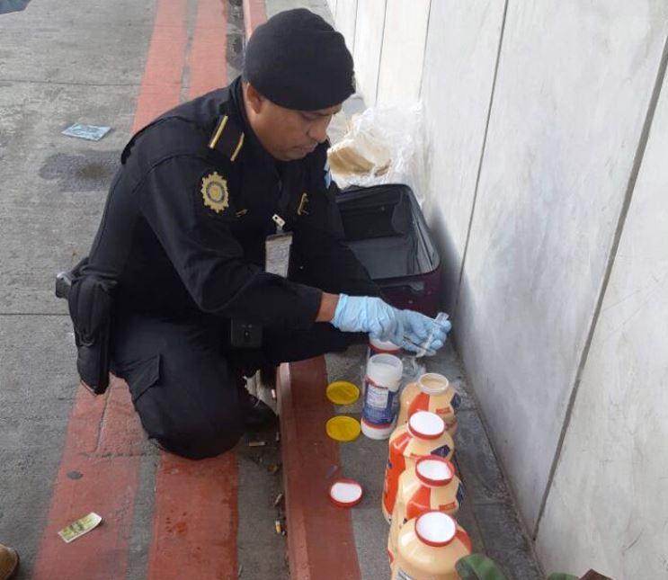 Policía incauta droga en tres áreas de la capital