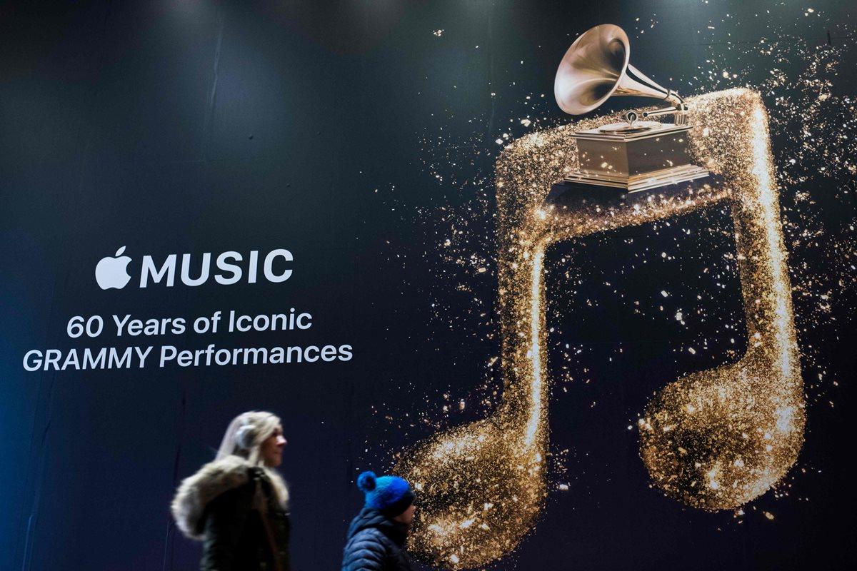 EL premio a canción del año es uno de los principales reconocimientos que se entregan en los Grammy. (Foto Prensa Libre: AFP)