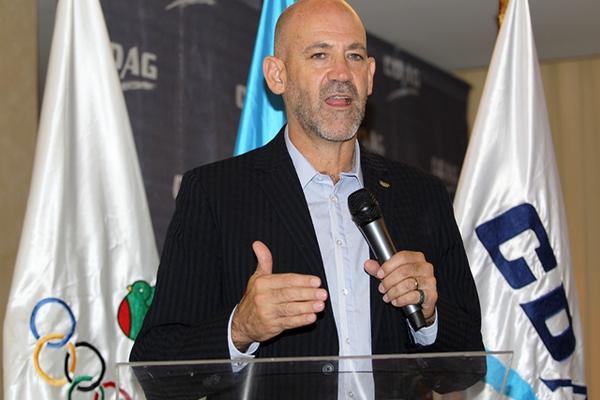 Gerardo Aguirre, presidente del Comité Olímpico Guatemalteco (COG).