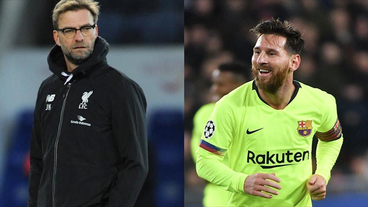 El entrenador alemán Jürgen Klopp considera al argentino Lionel Messi como el mejor futbolista de la actualidad. (Foto Prensa Libre: Hemeroteca PL)