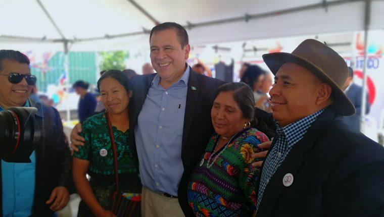 Luis Velásquez Quiroa, quien se postularía a la presidencia por el partido Unidos.(Prensa Libre: José Patzán)
