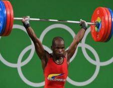 Mosquera fue parte de la delegación colombiana que disputó los Juegos de Río el año pasado. (Foto Prensa Libre: AFP)