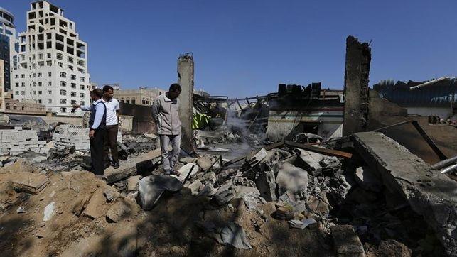 Ataque contra un cuartel en Adén, deja 10 muertos. (Foto Prensa Libre: EFE)