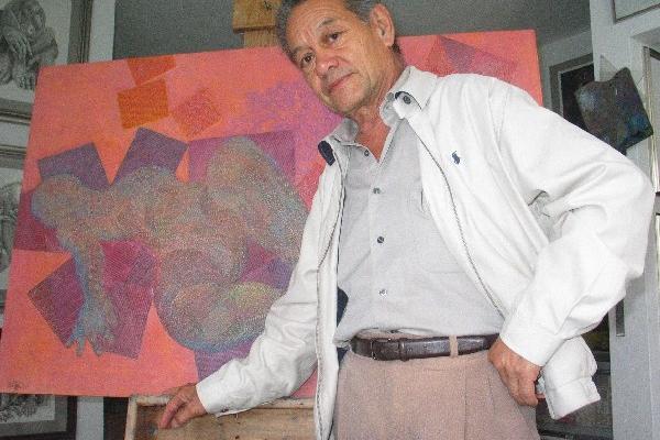 Muere el artista plástico César Izquierdo.