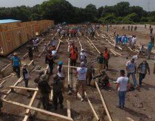La Unión Europea colabora con fondos y ayuda técnica para las labores de atención a los damnificados por el Volcán de Fuego. (Foto Prensa Libre: Hemeroteca PL)